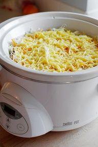 Crock Pot Breakfast Casserole - easy breakfast for a large group...