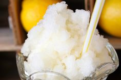 Lemonade Slushie - substitute THM approved sweetener for honey