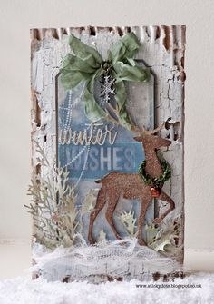 That's Life: Winter Wishes ~ 12 Tags of 2014 Tim Holtz