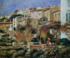 Pierre Auguste Renoir, Terrasses à Cagnes.