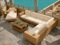 Outdoor Sectional Sofa With Coffee Table Set's Introduction ...