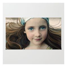 Dancer At Dusk - Portrait Painting Of A Young Girl Rug ($28) ❤ liked on Polyvore featuring home, rugs, machine washable area rugs, non skid area rugs, zig zag rug, polyester rugs and machine wash rugs