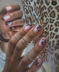 2019 Stunning Leopard Print & Snakeskin Pattern Nails Art Ideas - Page 2 of 8 - Vida Joven Leopard Nail Art, Leopard Print Nails, Winter Nails, Summer Nails, Love Nails, Fun Nails, Nail Patterns, Pattern Nails, Short Nails Art