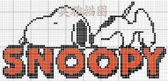 Cross Stitch Boards, Cross Stitch Heart, Counted Cross Stitch Patterns, Beading Patterns Free, Weaving Patterns, Diy Crochet Graph, Plastic Bead Crafts, Stitch Cartoon, Snoopy