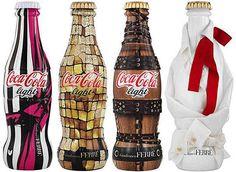 Cola Couture Canteens : Gianfranco Ferre Coca-Cola Bottles