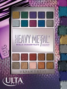 Bring some heavy metal to your holidays! This limited edition Urban Decay palette is equal parts glam and grunge with crushed metallic eyeshadows. One side is packed with neutral shades; the other with bold jewel tones. Use a little for some daytime glam or rock a full-metal look!