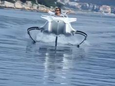 Kuin hämähäkki - tässäkö veneilyn tulevaisuus?