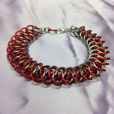 New weave available at www.facebook/chainmailleandcharms :-)