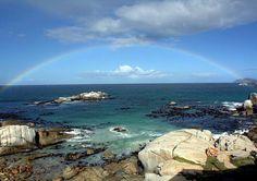 Pragtige foto van die uitsig by South Winds in Kaapstad.