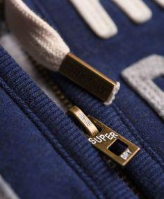 Superdry Core Applique hoodie met rits