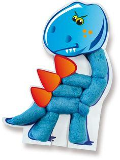 SES Funmais cards dinos #Funmais #Eco #corn #dino