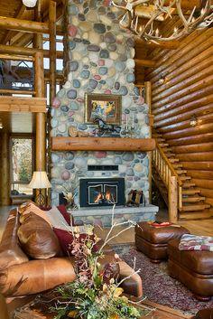 Montana log cabins Montana house plans Montana little homes