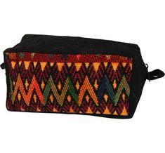 Recycled Huipil Cosmetic Bag - Makeup Bag - Hand Made in Guatemala - Fair Trade #Aworldofgood #josam1129 #RecycledHuipil #HuipilCosmeticBag #MakeupBag #FairlyTradedGuatemala #Guatemala #FairTrade