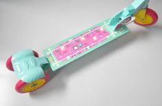 Hulajnoga Hello Kitty Łatka D001-1-C-3W-HK Dwukołowa
