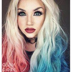 Harley Quinn by Glam & Gore by Рыжая тян | We Heart It