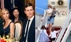 Jared and Ivanka take a seat at at Mar-A-Lago dinner #DailyMail