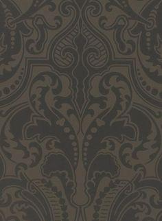 Ralph Lauren Tapete Gwynne Damask 2280. Tolle Ornamente Für Das Wohnzimmer:  ...