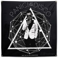 Panic! At The Disco- Photo Galaxy Flag Posters at AllPosters.com #PanicAttackTattoo