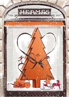 Orange tree HERMES Christmas