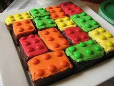 Lego brownies!  Very easy!