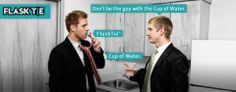 FlaskTie™ | Don't Be That Guy... Get A FlaskTie. - I have a funny feeling that I'll now be wearing more ties to work.
