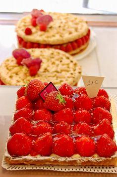 strawberry goodness @ Gerard Mulot
