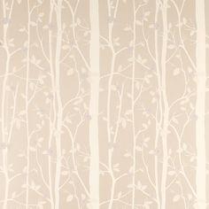 Cottonwood Leaf Wallpaper Natural