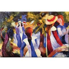 Girls in the Open by August by August Macke  at Joss and Main!