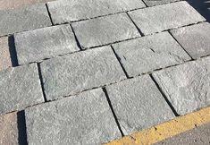 Hand Cut Kavalas Slate Standard   Akrolithos Thasos, Crazy Paving, French Pattern, Flat Rock, Garden Steps, Sky View, Grey Tiles, Alexander The Great, Wall Cladding