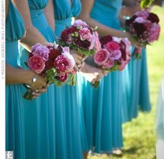 love the length on bridesmaid dresses