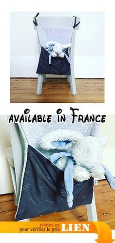 Range doudou ou range pyjama - Motif gris/ciel.  #Guild Product #GUILD_HOME