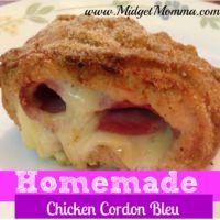 Homemade Chicken Cordon Bleu