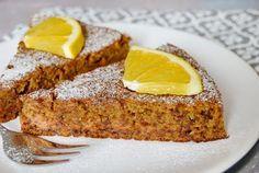 Citromhab: Narancsos-répás sütemény