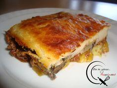 Ω! Μουσακάς! Sour Foods, Lasagna, Ethnic Recipes, Sweet, Lasagne