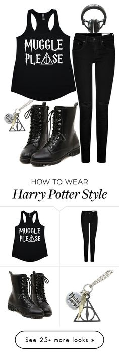 """Muggles"" by killjoy-sam on Polyvore featuring rag & bone"