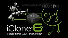 iClone Mocap Plug-in for Perception Neueron Motion Capture, Neurons, 3d Animation, Perception, Plugs, Budgeting, Learning, Studios, Characters