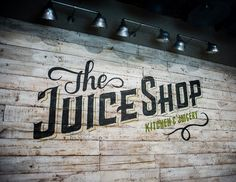 The Juice Shop (NYC) by No Entry Design, via Behance