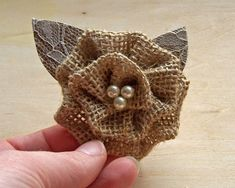Rustic Boutonniere Burlap Boutonniere Burlap and door theepapergirl, $8.00