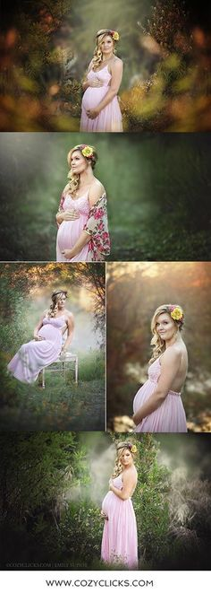 Gorgeous maternity poses and photos by Phoenix maternity photographer Cozy Clicks. Maternity photography outdoors at sunset in the Phoenix area.