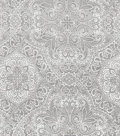 Home Decor Print Fabric- HGTV Home Intricacy Mineral