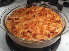 Deluxe Tuna Casserole With Egg Noodles