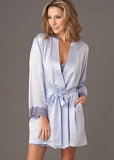 Curated Robe Sale  Le Tresor Silk Wrap (Now 50% off!) http 7f2369827