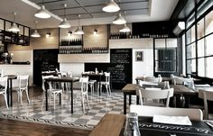 RESTAURANT DESIGN: LA CUCINERIA RESTAURANT IN ROME, ITALY BY NOSES ARCHITECTS