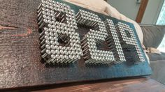 How to Make Stainless Steel House Numbers That Your Neighbors Will Envy