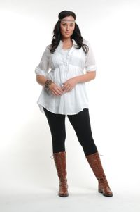A look from plus-sized clothing line Faith 21