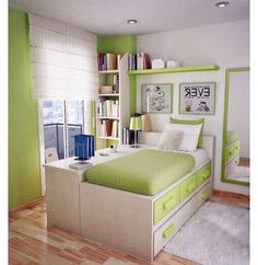 small teen bedroom layout   Designing Home: 10 Design Solutions for ...