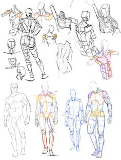 Exceptional Drawing The Human Figure Ideas. Staggering Drawing The Human Figure Ideas. Human Anatomy Drawing, Human Figure Drawing, Figure Drawing Reference, Gesture Drawing, Anatomy Art, Guy Drawing, Art Reference Poses, Drawing Practice, Character Drawing
