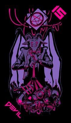Home of the Neon Moon Tarot Deck. Kon Bleach, Goth Wallpaper, Pastel Goth Art, Neon Moon, Satanic Art, Psy Art, Arte Obscura, Occult Art, Baphomet