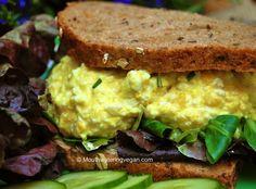 I'll admit, I've never eaten a real egg salad sandwich, but this vegan version sounds good!