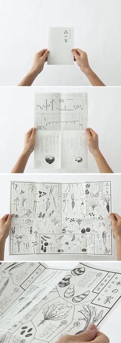 consider having students make their own restaurant menus 森の家 パンフレット Web Design, Japan Design, Book Design, Layout Design, Print Design, Dm Poster, Poster Layout, Print Layout, Book Layout